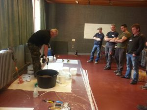 Workshop epoxy gietvloeren