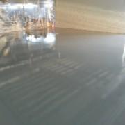 de epoxy gietvloer bij vdab te brussel