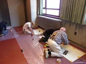 Workshops steentapijt en gietvloeren