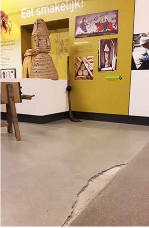 Blotevoetenpad Lieteberg selecteert Epoxy-Design voor nieuwe vloer in entomopolis