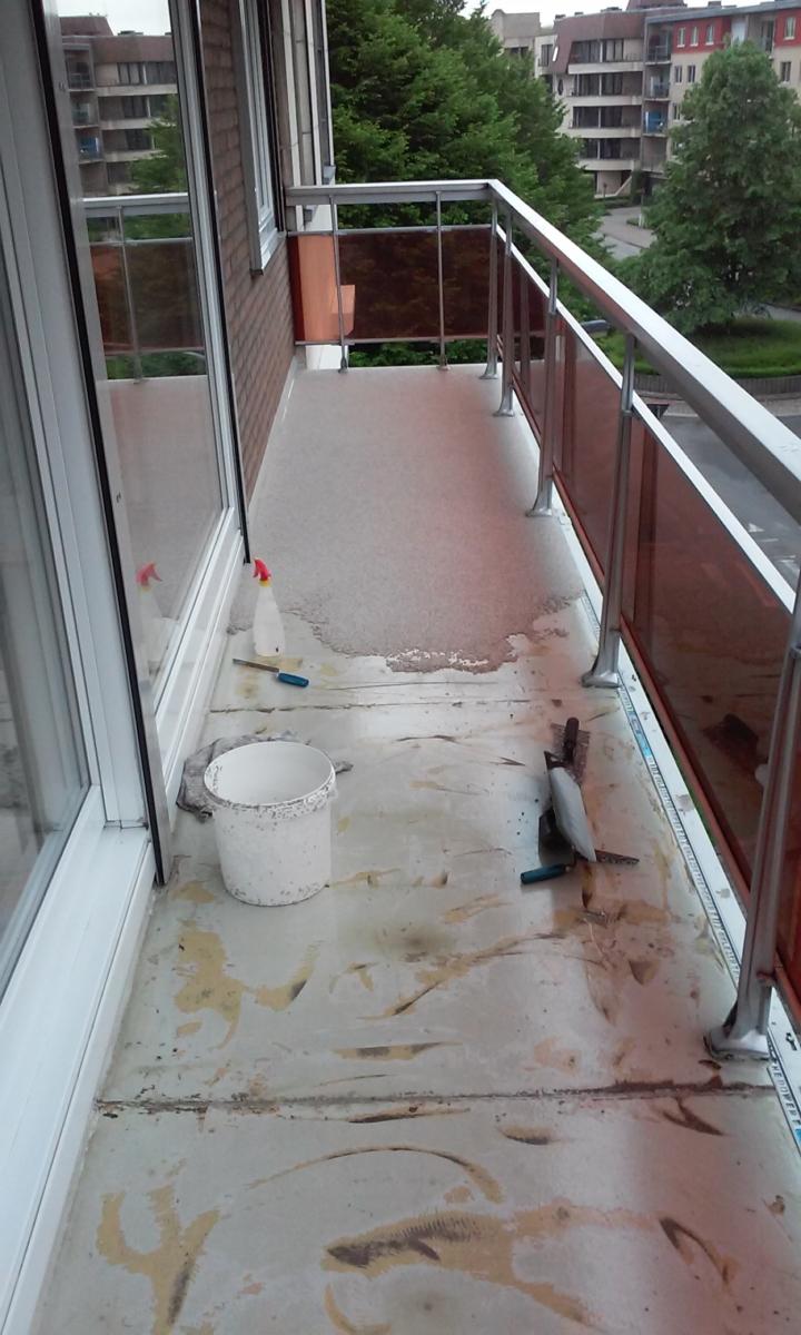 Pronk met je balkon dankzij Epoxy-Design!