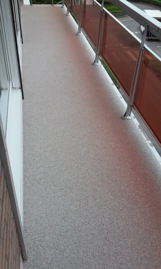 Favoriete Pronk met je balkon dankzij Epoxy-Design! Ga voor steen- of VR39