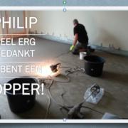 Epoxy-Design scoort ook in Nederland met marmertapijt.