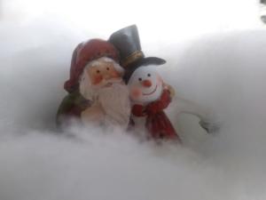 En nu is het tijd voor sneeuwtapijt...