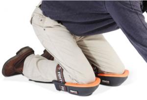 Epoxy-Design: erkend verdeler Fento kniebeschermers